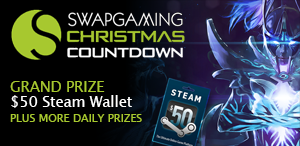 Win lots of cool prizes with SwapGaming!