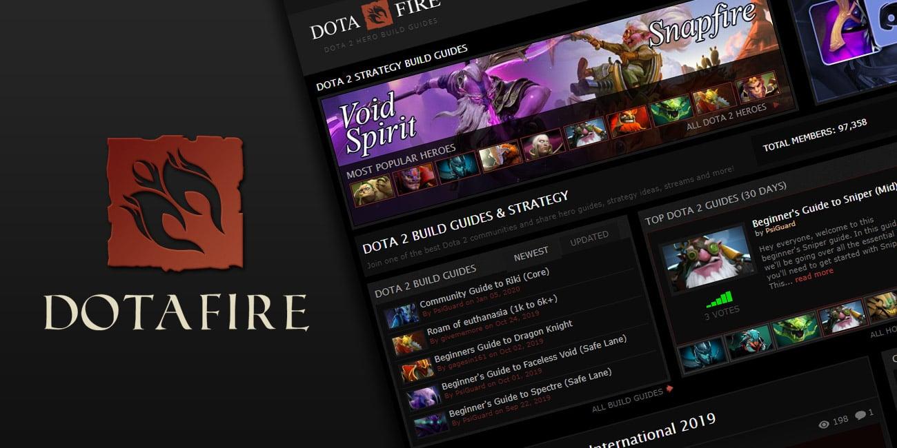 Dotafire Dota 2 Builds Guides For Hero Strategy